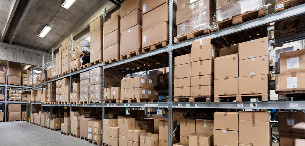 We offer safe storage in our package warehouse